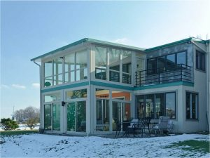 Michigan Two Story Sunroom