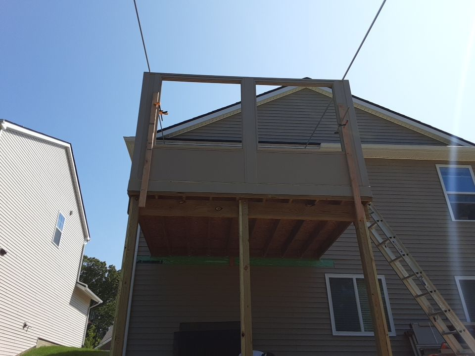 2nd Story Sunroom Howell Livingston County Build (2)