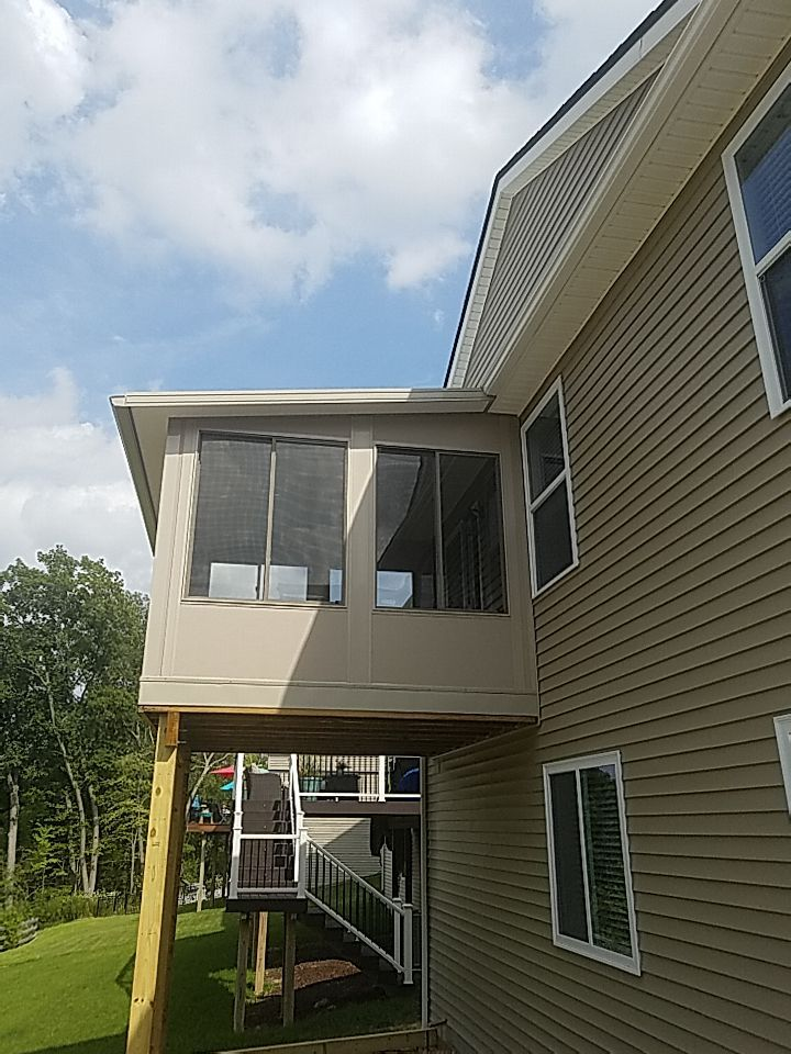 2nd Story Sunroom Howell Oakland County Michigan (5)