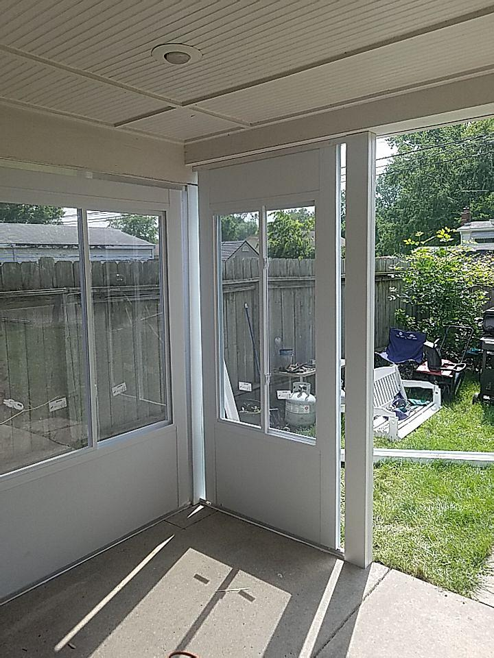 Sunroom Enclosed Patio in Taylor Michigan 4
