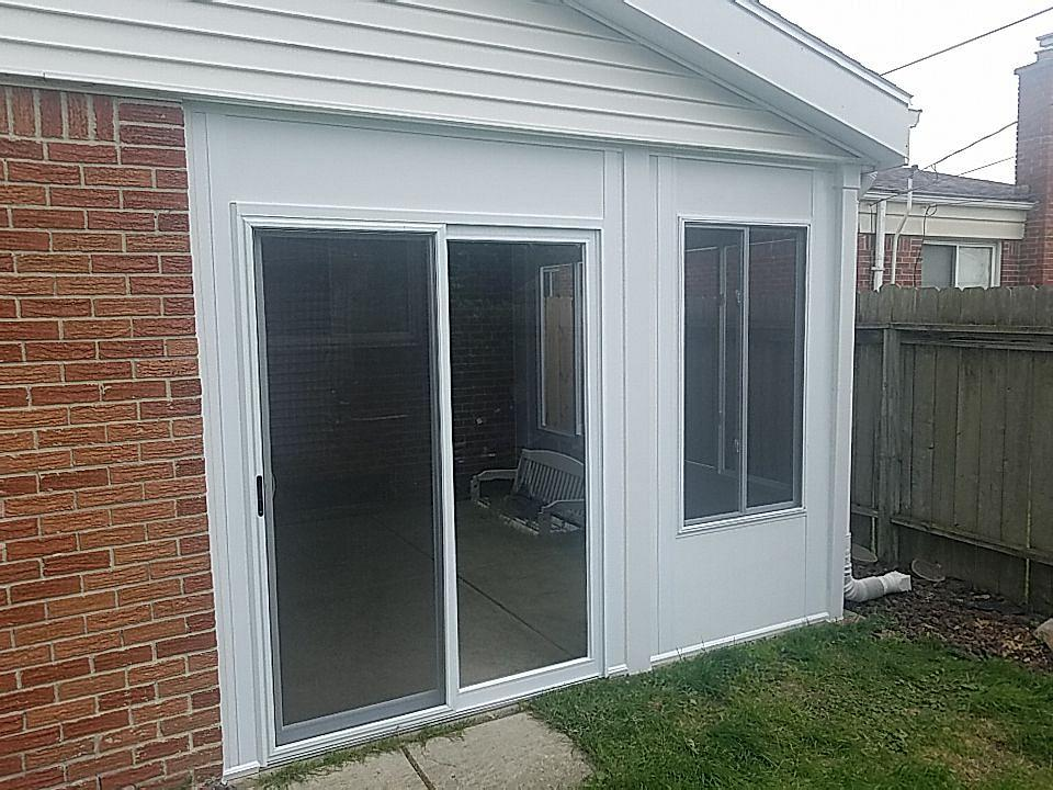 Sunroom Enclosed Patio in Taylor Michigan 7